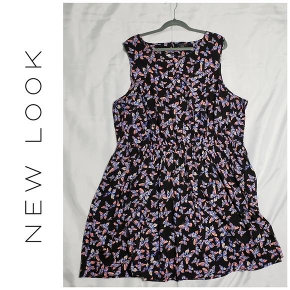 f127f0dfff New Look Inspire Plus Size Floral Dress (US 24)